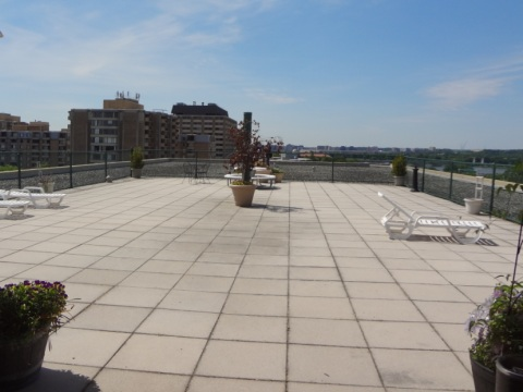 Potomac Plaza Roof Terrace