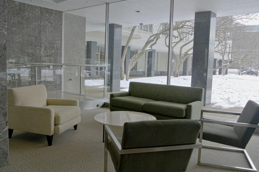 Potomac Plaza Apartments Lobby (South Side) | Potomac Plaza Apartments Co Op