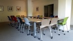 The multipurpose community room.